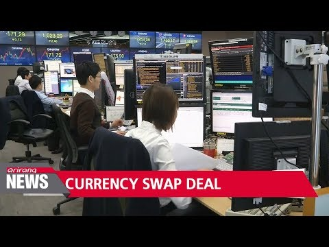 Korea, Canada sign first standing currency swap
