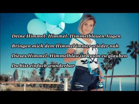 Anna Maria Zimmermann -  Himmelblaue Augen (Lyrics)
