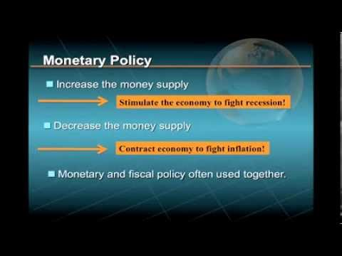 Lecture 1/3, Major Macroeconomic Policy Tools