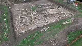 Antica villa romana scoperta durante i lavori alla linea elettrica
