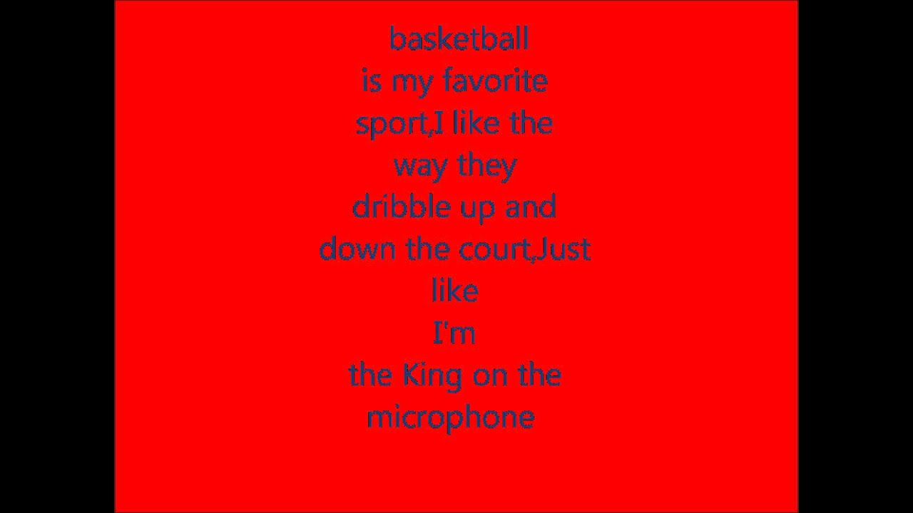 basketball is my favourite sport Free essay: as many can tell you there is nothing quite like the feeling of playing the sport you love with crowds cheering for you to win everyone can feel.