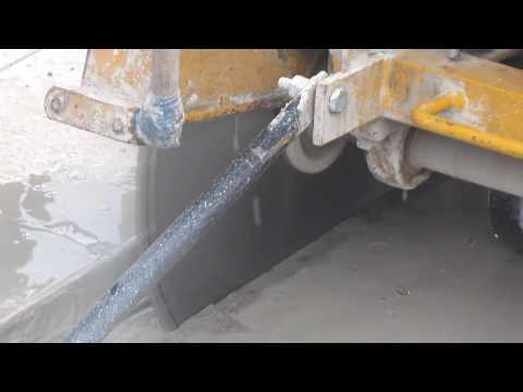 Работа швонарезчика по бетону (CONCRETE AND ASPHALT CUTTERAGT) AGT MTBA 500