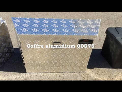bigfic coffre trapeze aluminium 00375 pour remorque youtube. Black Bedroom Furniture Sets. Home Design Ideas