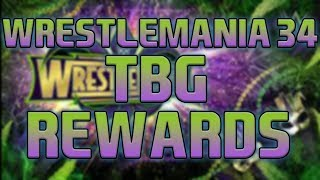 MY BEST WM34 PACK OPENING ??  WM 34TBG REWARDS !!!! | WWE SUPERCARD SEASON 4