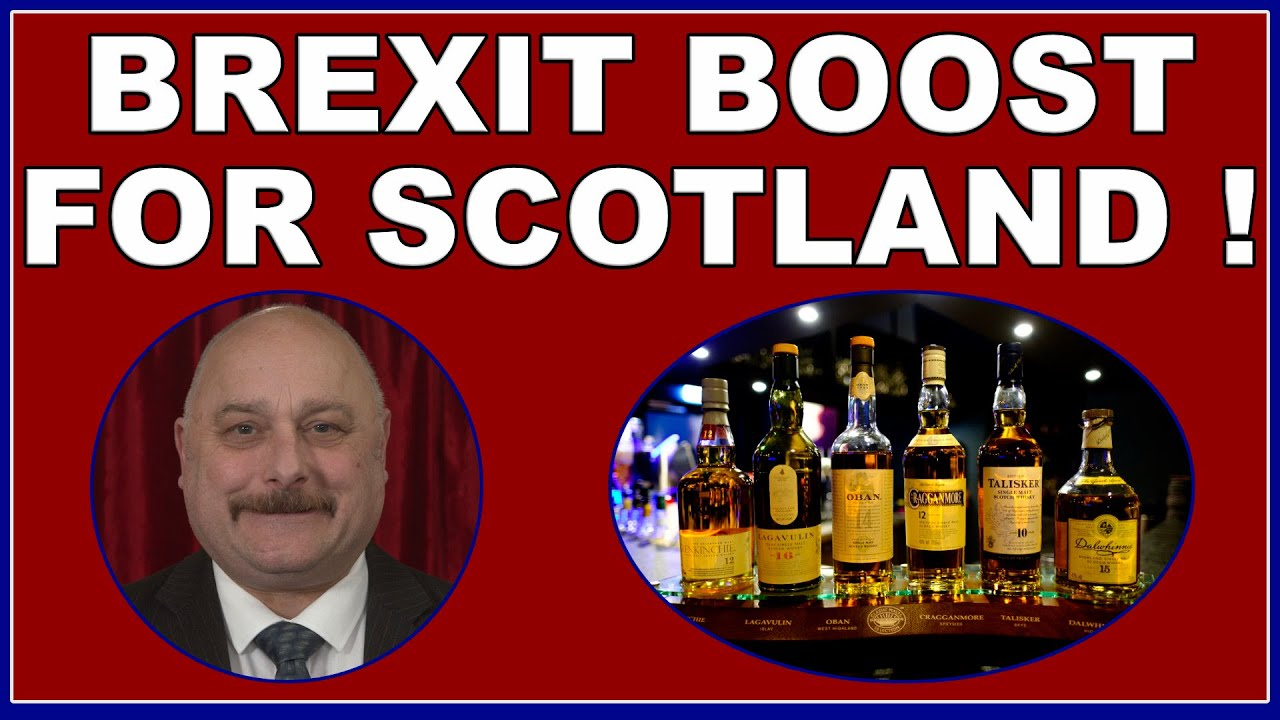 Brexit boost for Scotland - US lifts tariffs on Scotch whisky! (4k)