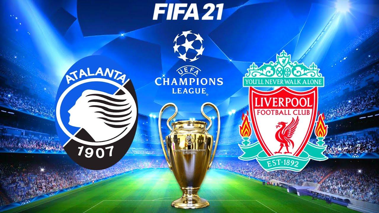 FIFA 21 | Atalanta vs Liverpool - UCL Champions League 20/21 - Full Match &  Gameplay - YouTube