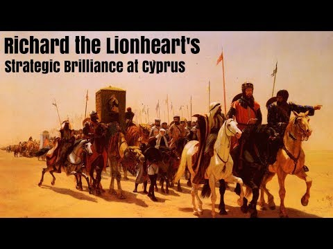 Richard the Lionheart's Strategic Brilliance at Cyprus