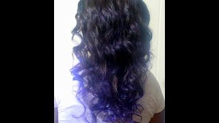 Deep Purple Ombre Sew-in