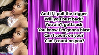 Tink  - Count On You (Lyrics)
