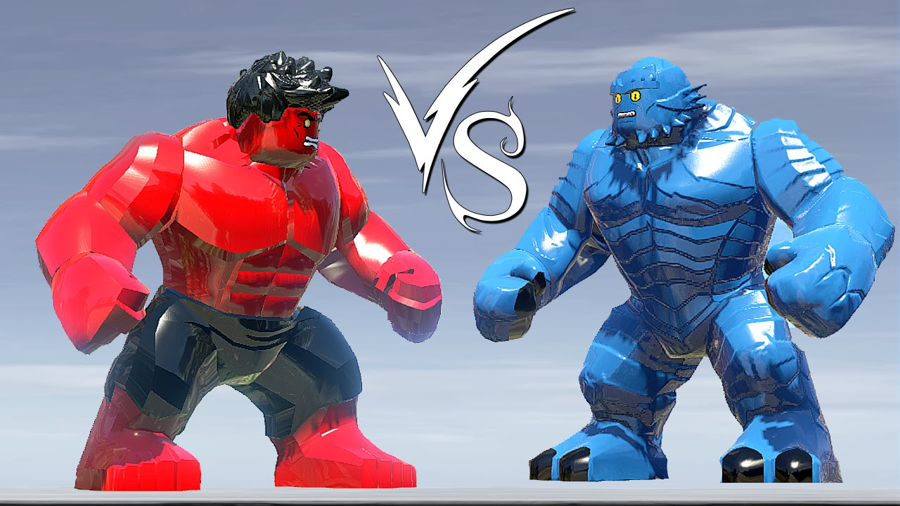 Red Hulk Vs A Bomb - LEGO Marvel Super Heroes - YouTube