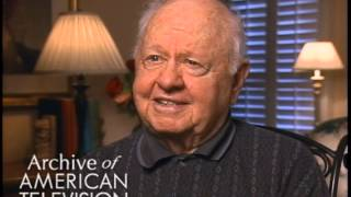 Mickey Rooney on advice to aspiring actors - EMMYTVLEGENDS.ORG