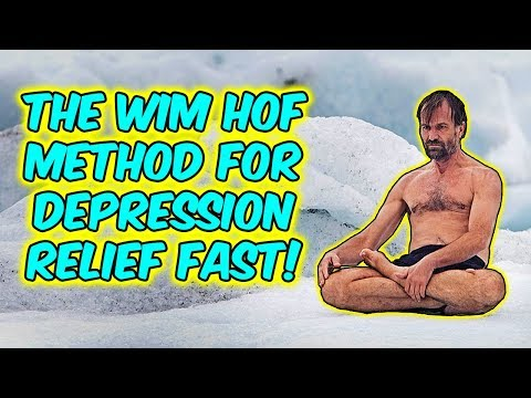 The Wim Hof Breathing Method For Instant Depression Relief!