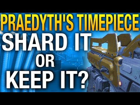 Destiny | Praedyth's Timepiece Review, Best Legendary P ...