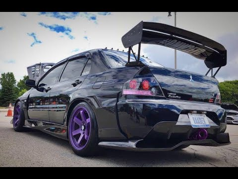mitsubishi evo 9 vaader voltex modified youtube. Black Bedroom Furniture Sets. Home Design Ideas