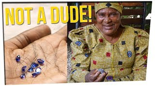 Woman Disguised Herself as a Man to Get Work ft. DavidSoComedy