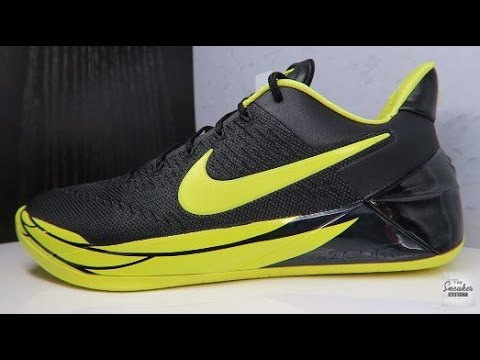7ab2217cbf1 NIKE KOBE A.D OREGON DUCKS PE SNEAKER REVIEW - YouTube