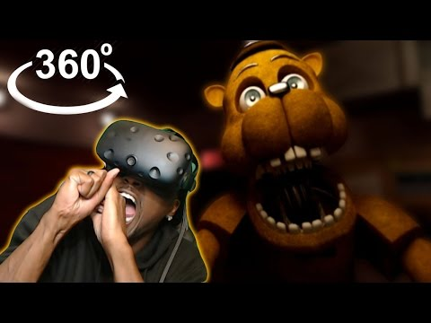 FREDDY OR CHEESY PUFF? | Five Nights At Freddy's: Virtual Reality Experience 360° HTC Vive REACTION