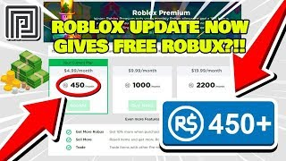 **NEU** ROBLOX UPDATE GIVES FREE ROBUX?!! | WIE GET FREE ROBLOX PREMIUM PROMO CODES 2019