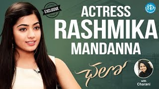 Chalo Actress Rashmika Mandanna Exclusive Interview || Talking Movies With iDream