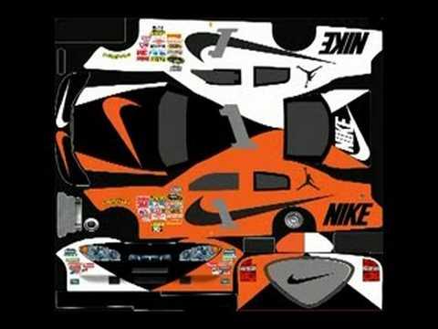 Nascar 2009 Car Templates - YouTube
