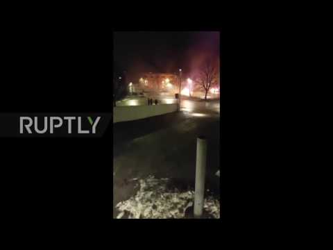 Sweden: Cars burn, shops looted in Stockholm suburb riots