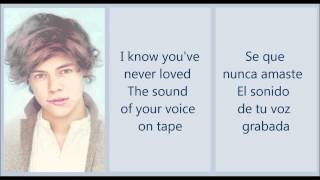 Little Things - One Direction (Letra en Ingles y Español)