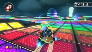 SNES Rainbow Road - 1:24.132 - Vιcτrσηγχ (Mario Kart 8 World Record)