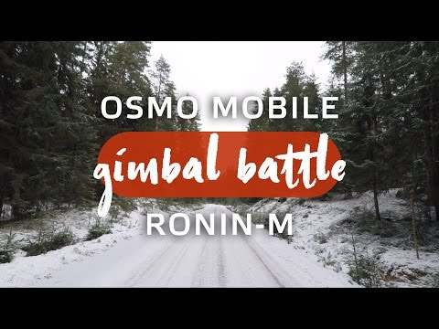 Gimbal Battle - Osmo mobile (Gopro) vs Ronin-M (A7s)
