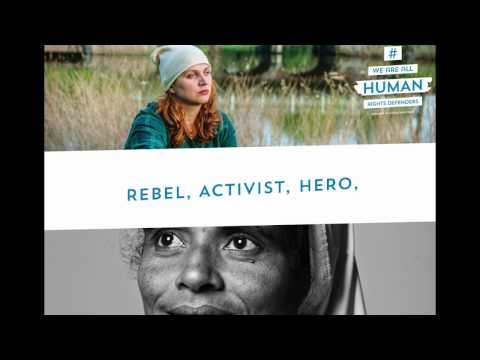 Photo exhibition We are all human rights defenders   Justice and Peace Netherlands