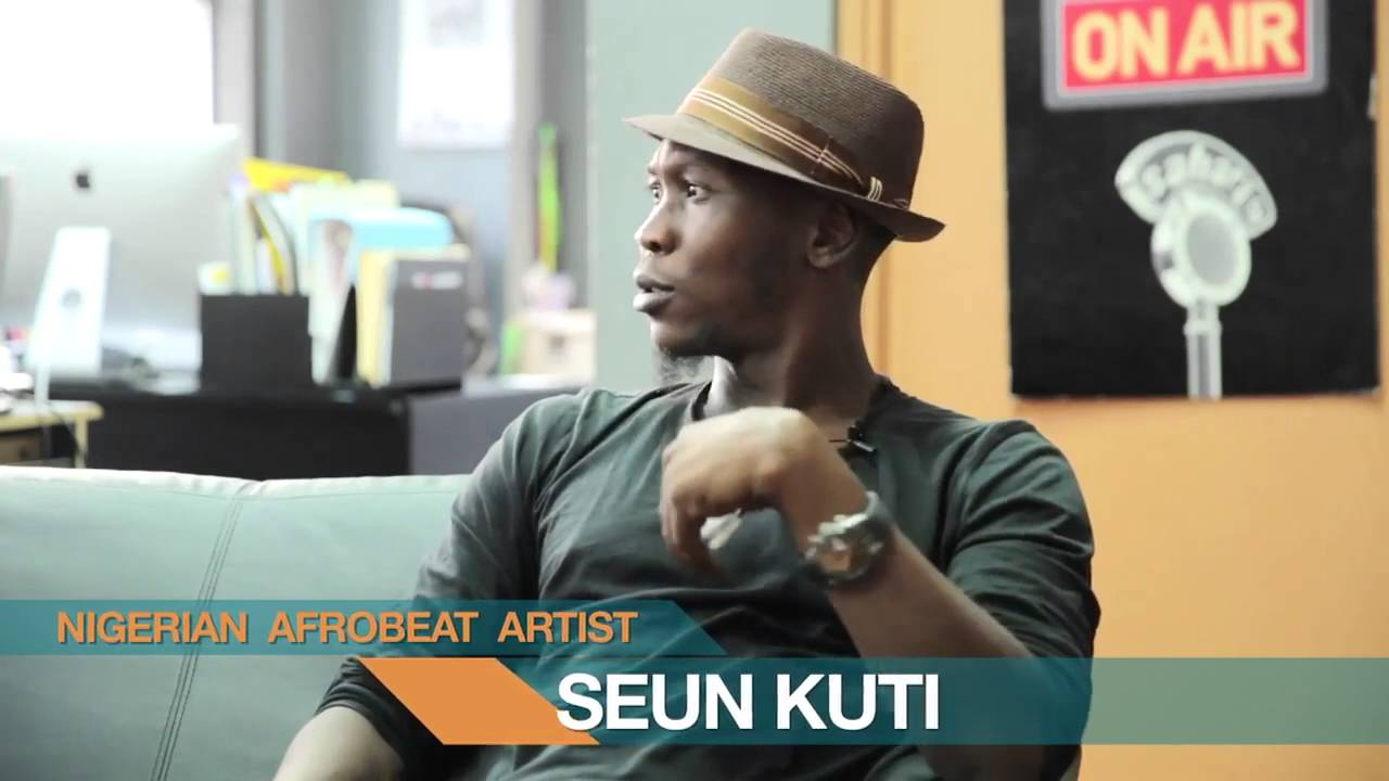 Seun Kuti - African Entertainment Industry