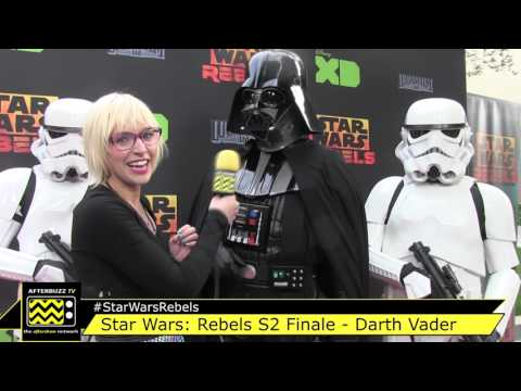 Darth Vader Interview | Star Wars Rebels S2 Finale Red Carpet