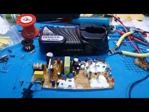Как отремонтировать зарядку шуруповёрта HITACHI UC18YKL