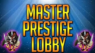 BO2 FREE MASTER PRESTIGE/MODDED STATS LOBBIES!! Live Stream Ep5