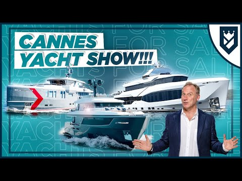 PREVIEW OF THE CANNES YACHTING FESTIVAL 2021!!!
