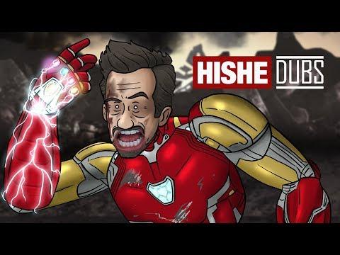 HISHE Dubs - Avengers Endgame (Comedy Recap)