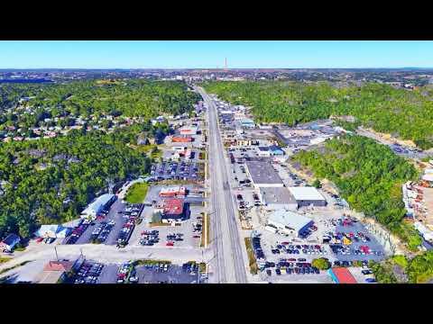 Sudbury, Ontario - Google Earth Drone Video