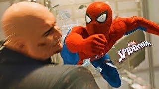 Знакомьтесь тот самый Человек Паук. Начало прохождения игры Marvel's Spider Man летсплей PS4