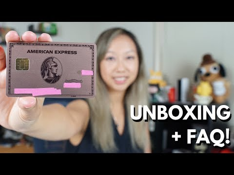 NEW Metal Amex ROSE GOLD Card Unboxing Limited Edition + FAQ