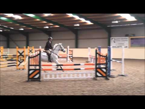 Lochnovar Clover - British Novice double clear - Brook Farm - March 2015