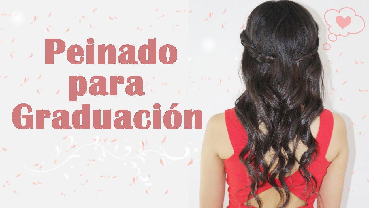Bonito y cómodo probar peinados con tu foto Galeria De Cortes De Pelo Tendencias - Peinado para tu graduación   Akari Beauty - YouTube