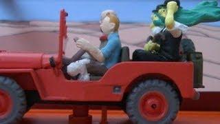 Little cars Tintin Hergé