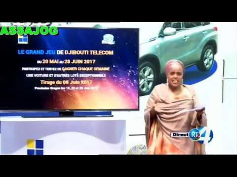 Djibouti: Le Tirage de DjibTelecom 08/6/2017