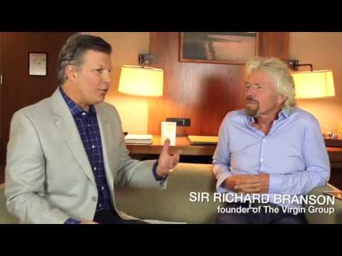 Carmine Gallo and Richard Branson discuss the power of storytelling to drive change