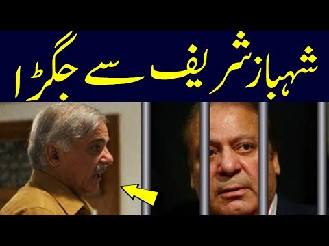 shahbaz sharif meet nawaz sharif in adiala jail | Nawaz shrif Upset From Shahbaz sharif