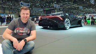 """GENEVA 2019: Bugatti """"La Voiture Noire"""" one-off - cea mai scumpă maşină nouă din istorie"""