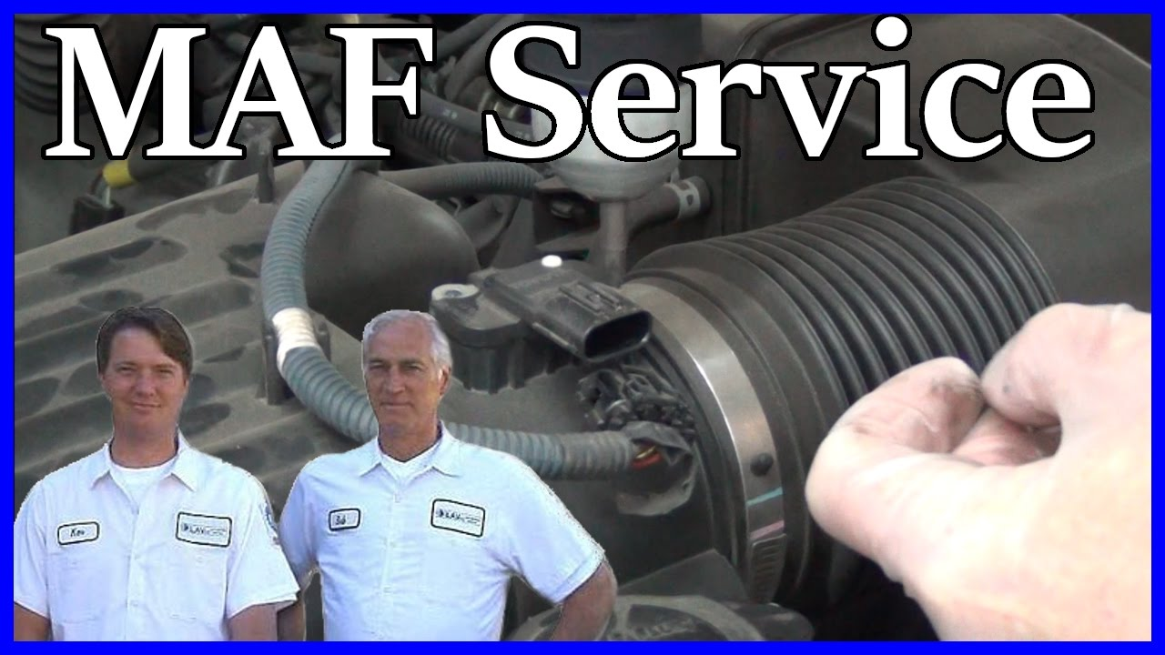 How To Service A Mass Air Flow Sensor Toyota Tundra 47l V8 2000 2007 Maf Iat Wiring Diagram 2006