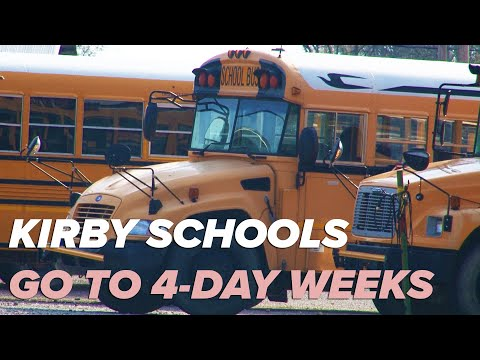 Kirby School District changes to 4-day school weeks