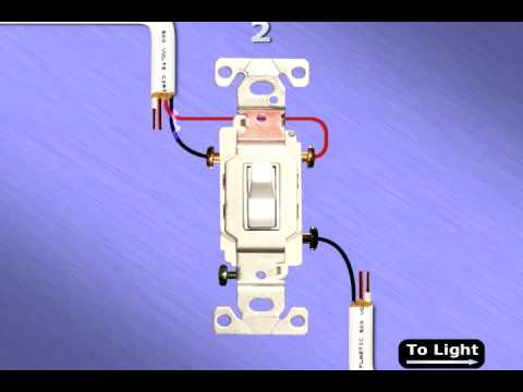 3 Way Switch Animation How a 3Way switch Works YouTube