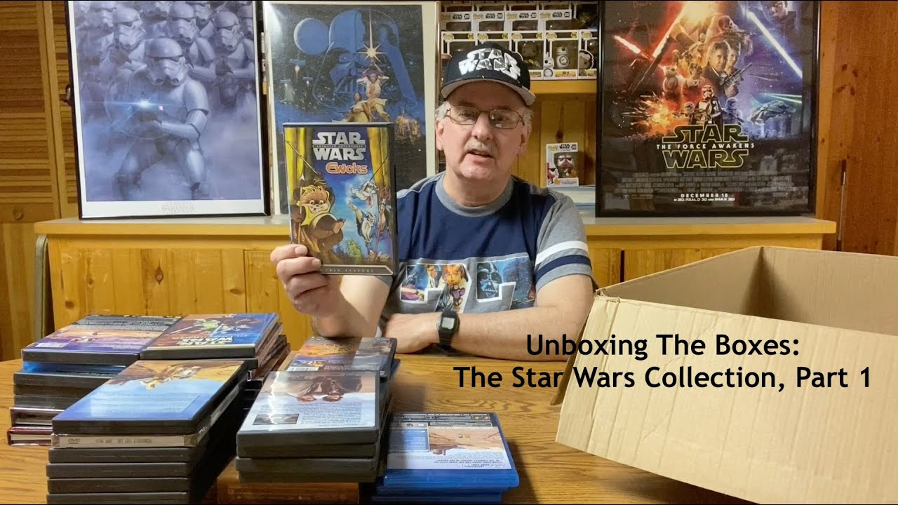 Unboxing The Boxes: The Star Wars Collection.  Part 1, The Videos and Flims.