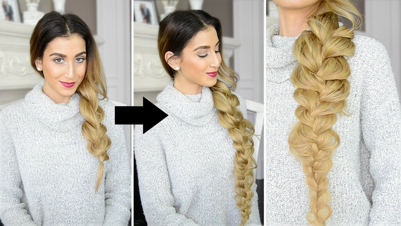 How To Make Your Braid Look Longer YouTube